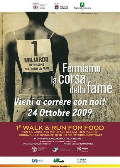 1° Walk & Run For Food – Comunicato
