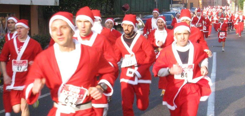 Babbi Natale di corsa