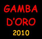Calendario Gamba d'Oro 2010