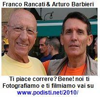 Franco e Arturo su Podisti.net