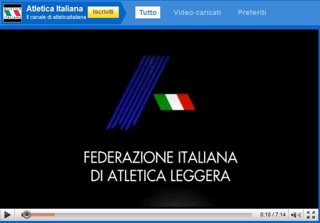 Su YouTube nasce Atletica Italiana