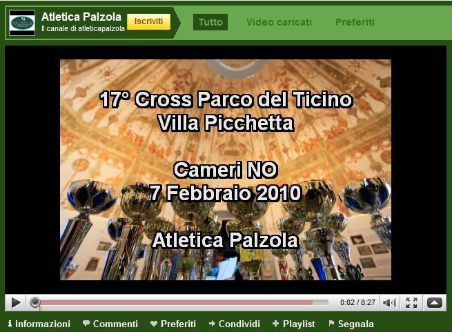 Canale Atletica Palzola