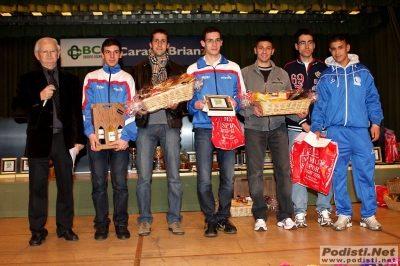 Premiazioni Campionato Brianzolo