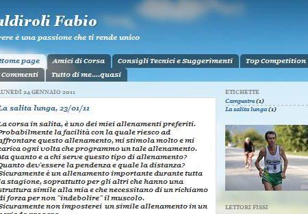 E' nato il sito internet di Fabio Caldiroli