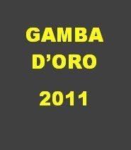 Calendario Gamba d'Oro 2011