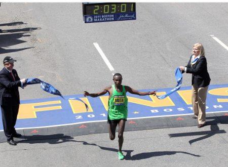 Maratona – Record del mondo a Boston