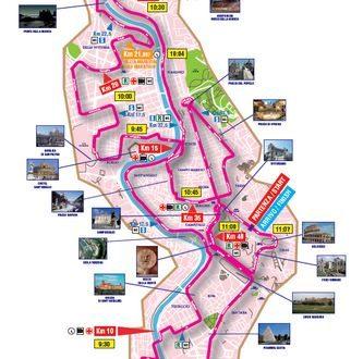 Maratona di Roma 2012. Diretta Tv, Percorso