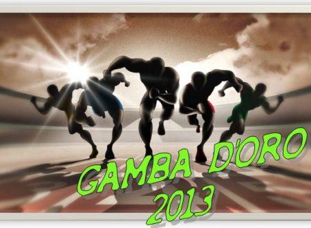 Calendario Gamba d'Oro 2013