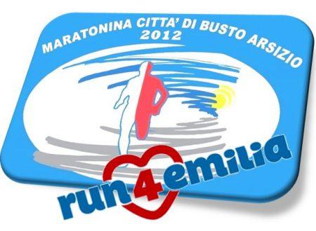 Maratonina di Busto – 1€ per l'emilia