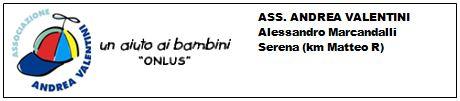 Logo Associazione Andrea Valentini 2013 2