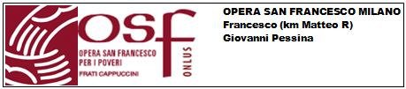 Logo Opera San Francesco 2013 3