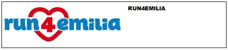 Logo Run 4 Emilia 2013