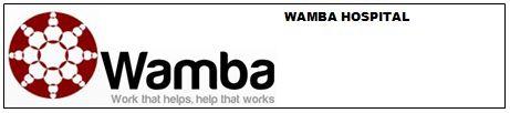 Logo Wamba Hospital 2013