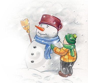 A volte capita che anche sugli uomini nevichi
