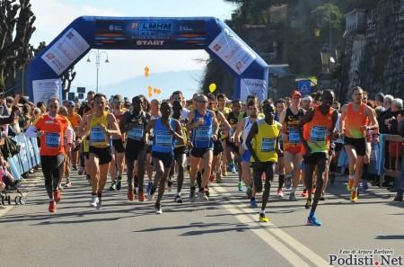 Lago Maggiore Half marathon 2013 partenza