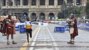 Maratona di Roma 2013 arrivo