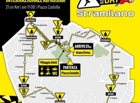 Stramilano Half Marathon 2013 – Percorso