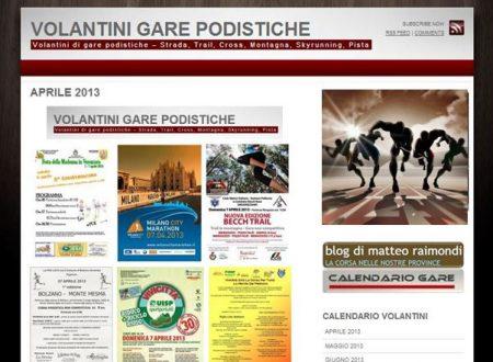 Volantini Gare – Il nuovo sito