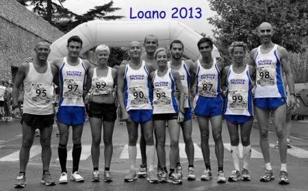 Atletica palzola Giro delle Mura Loano 2013