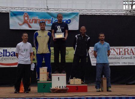 Atl Palzola al 7° Giro delle Mura di Loano