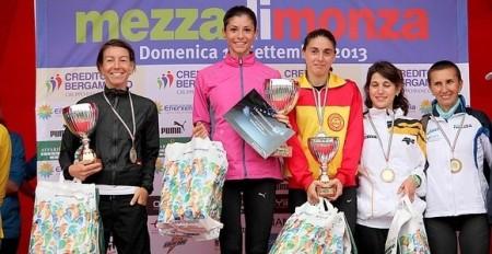 mezza di monza 2013 podio femminile