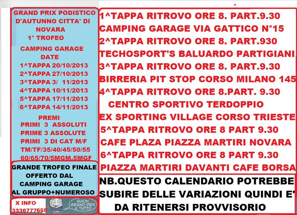Calendario Podismo Piemonte.Calendario Gare Blog Di Matteo Raimondi