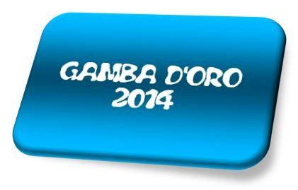 Calendario Gamba d'Oro 2014