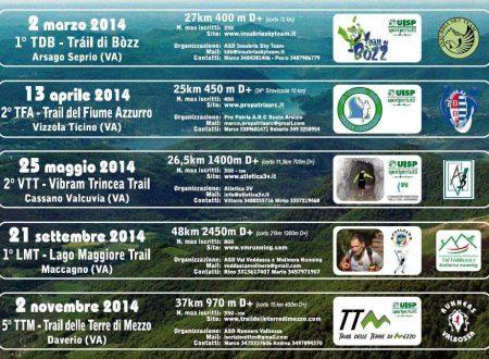 Circuito Trail Prealpi Varesine 2014