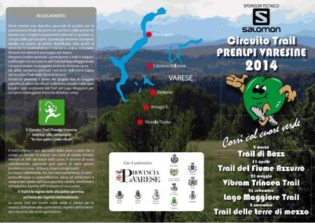 Circuito Trail Prealpi varesine fronte