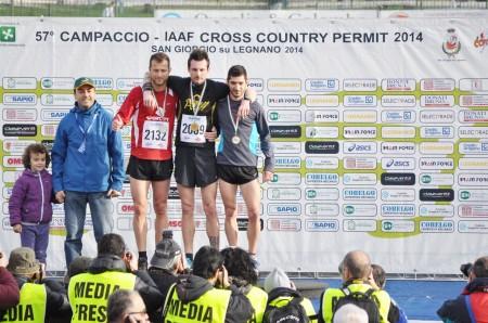 Campaccio 2014 podio Sm35