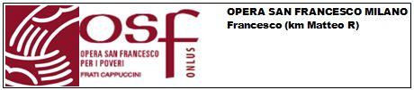 Logo Opera San Francesco 2014