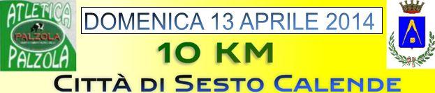 10 km città di sesto calende 2014 gara