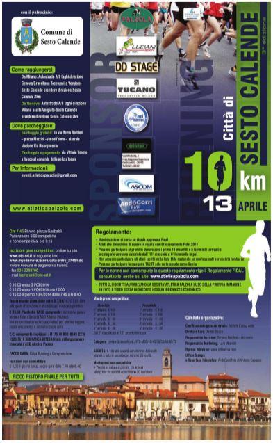 10 km città di sesto 2014
