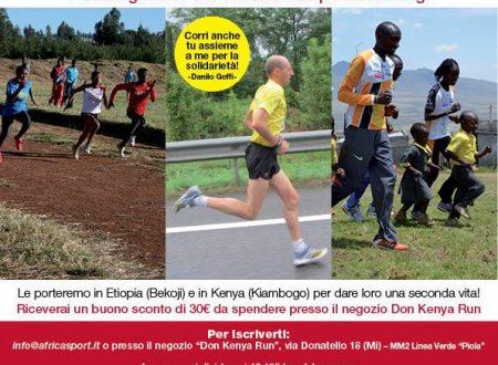 Africa&Sport alla Milano Marathon 2014