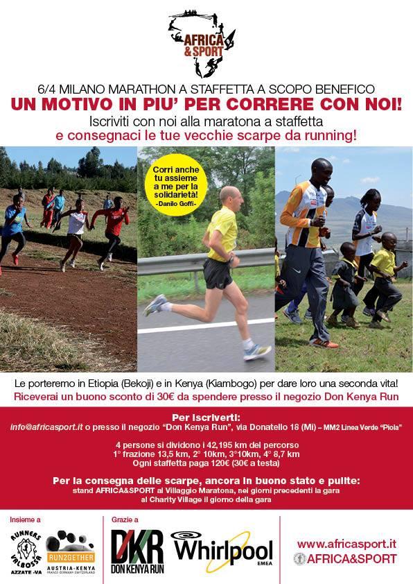 Africa e Sport milano marathon 2014
