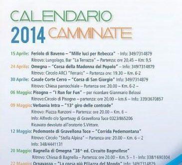 Calendario VCO in Festa 2014