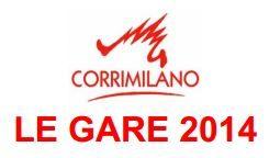 Corrimilano 2014 – Calendario gare