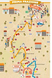 Percorso Milano Marathon 2014 1° Frazione