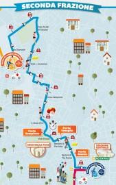 Percorso Milano Marathon 2014 2° frazione