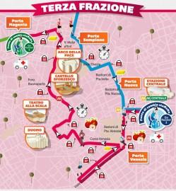 Percorso Milano Marathon 2014 3° frazione