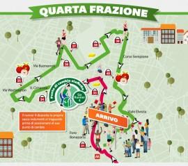 Percorso Milano Marathon 2014 4° frazione