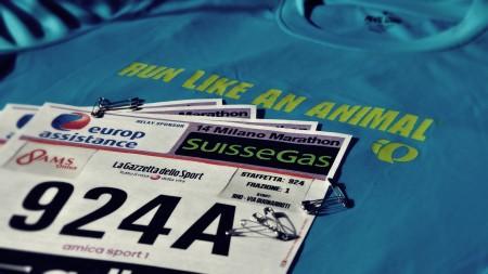 Milano Marathon Pearl izumi
