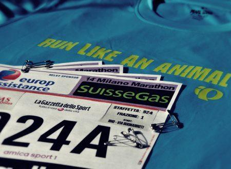 Staffetta AmicaSport alla Milano Marathon