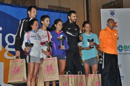 Premiazioni Legnano Night Run 2014