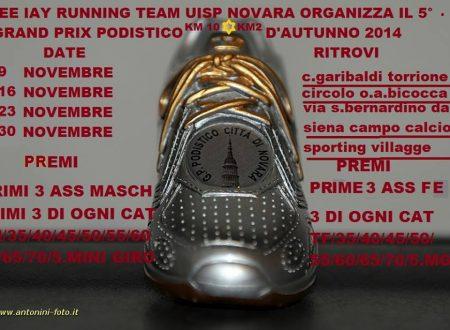 Grand Prix Podistico d'Autunno Novara 2014