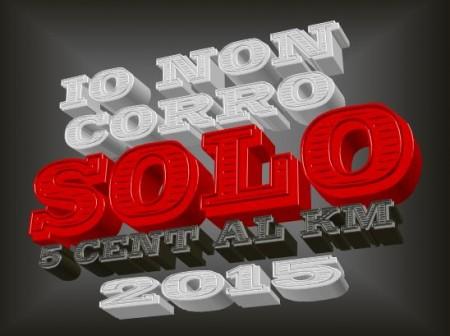 Logo Io Non Corro Solo 2015