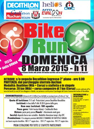 Bike Run Rescaldina 2015