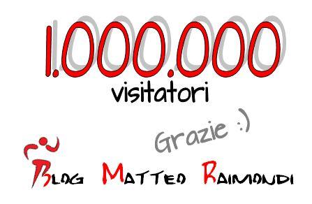 Un milione di visite