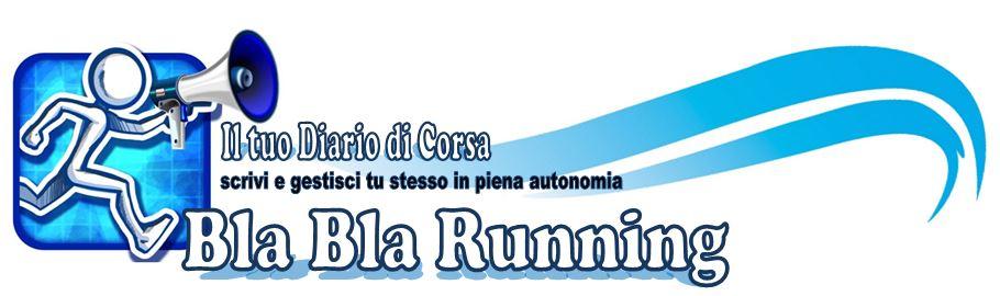 Bla Bla Running Logo testata 3