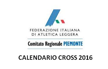 Calendario Cross Piemonte 2016